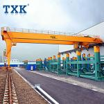 5 Ton 10 Ton Electric Mobile Gantry Crane Outdoor Running Wire Rope Hoist