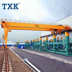 China 5 Ton 10 Ton Electric Mobile Gantry Crane Outdoor Running Wire Rope Hoist on sale