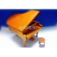 China Handmade Wooden Natural Grand Piano Shaped Music Box (LP-31)