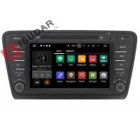 Iphone & Android Car DVD Player Skoda Octavia Head Unit ARM Cortex A9 Quad Core 1.6GHZ