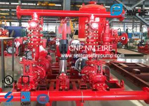 UL FM Approved Skid Mounted Fire Pump Package Ductile Cast