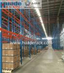 Industrial Selective Pallet Racking System, Double depth, warehouse racks and shelves