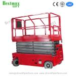 6m Platform Height Self Propelled Scissor Lift with  Extension Platform