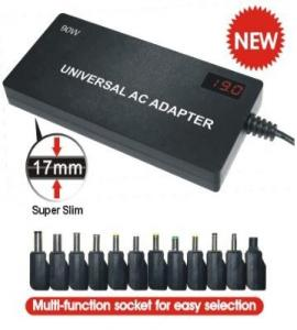 Quality 90W Auto Sensing universal AC/DC power supply for laptop and LCD monitor MH-UPA for sale