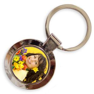 China Artistic Portable Personalized Metal Keychains For Christmas Decorations on sale