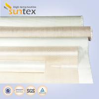 Smoke Curtain Woven Fiberglass Cloth Heat Insulation Fireproof  2050 G/M2