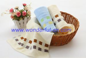 China Home luxury best absorbent 100 egyptian cotton face terry towel on sale