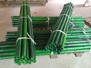 China Bamboo fencing green bamboo rool Bamboo Fence Roll 5'*8' on sale