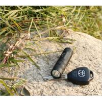 High Power Green Cree Led Flashlights Rechargeable , 220 Lumens For Hiking
