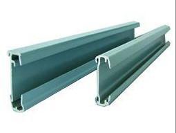 China Alloy 6063 Aluminium Channel Profiles Powder Coating High Plasticity on sale