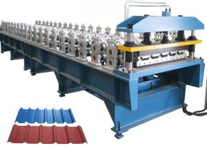China Roofing Sheet Roll Forming Machine , Roofing Corrugated Sheet Roll Forming Machine on sale