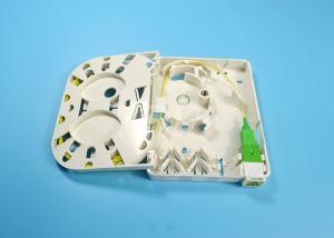 China Mini Fiber Optic Terminal Box , 2 Core Fiber Optic Splice Box ISO Certificated on sale