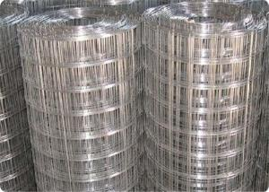China Green Welded Wire Mesh Rolls Stainless Steel Wire Material Strong Structure on sale