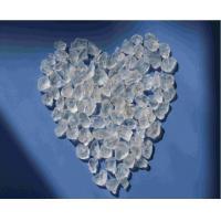 white Silica gel beads