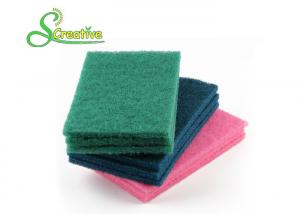 China Industrial Cleaning Heavy Duty Scouring Pads Non Abrasive 350gsm / 500gsm / 700gsm on sale
