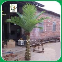 UVG factory price indoor artificial palm decorative coconut tree for hotel landscaping