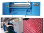 Perforadora redonda horizontal de la esponja/cortadora de la anomalía para el amortiguador