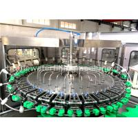 8000BPH Glass Bottle Filling Machine For Soda Water / Energy Drink Production