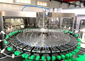 China 8000BPH Glass Bottle Filling Machine For Soda Water / Energy Drink Production on sale