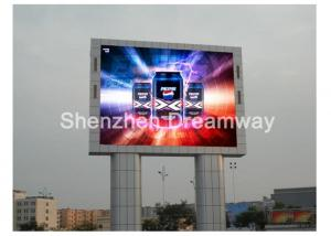 China P 10 Outdoor Advertising LED Display Screen 1R1G1B with IP65 Waterproof , 10000 dots on sale