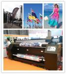 Непрерывные печатные машины цифров чернил для тканей, высокого разрешения