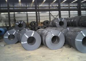 China Mill / Slit Edge Stainless Steel Metal Strips, 93 Hardness Hot Rolled Steel Strip on sale