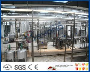 China chaîne de fabrication de lait UHT 1500LPH, usine fraîche de laiterie UHT de lait de lait en poudre on sale