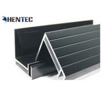 China Black Anodized Solar Panel Aluminum Frame / Aluminum Frames for PV Solar Module on sale