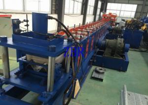 China Rollo de alta velocidad de la barandilla que forma la presión de funcionamiento 10Mpa del diámetro los 90MM del eje de la máquina on sale