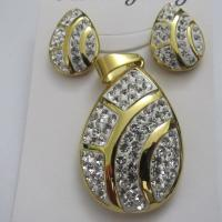 Costume Jewelry/Bridal Jewelry Sets/Cheap Crystal Jewelry Sets