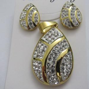 China Costume Jewelry/Bridal Jewelry Sets/Cheap Crystal Jewelry Sets on sale