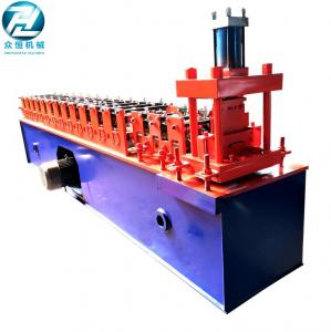 China Low Noise Small Rolling Shutter Forming Machine For Shutter Slat With PLC on sale