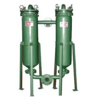Industrial Bags Duplex Pressure Filters Pressure 0.4MPA Used Extile Chemicals , Edible oil