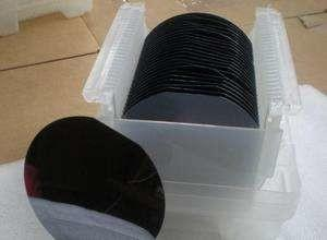 China Black 8 Inch IC Silicon Wafer Silicon Ingots Polysilicon For Semiconductor Process on sale