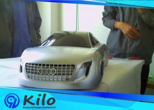 China SLA/SLS Plastic Rapid 3D Printing Prototype Service Silver Painting Car Model on sale