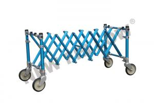 China Aluminum Alloy Extensional Funeral Stretcher Church Trolley / Coffin Support on sale