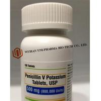 China Pencillin V Medical Tablets USP 500mg A disease caused by penicillin sensitive bacteria on sale