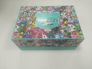 China Animal Cartoon Printed Paper Packaging Boxes For Children Toys / Snack on sale