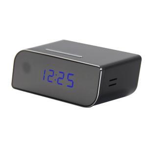 caméra cachée par horloge sans fil de 720P P2P mini Wifi, angle de vue de 160 degrés YM-W010