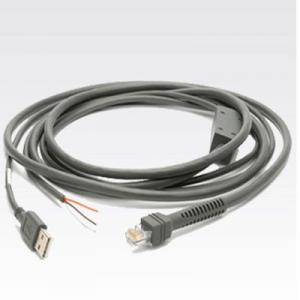 China CAB-U06-S09EAR 9ft Straight USB to RJ50 10P10C Cable for Symbol scanner series on sale