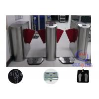 Turnstile Entry Systems Access Control Turnstiles Flap Gate With Esd Shoe Checker