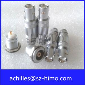 China high quality saving cost S series lemo push pull coaxial connector half-moon model on sale