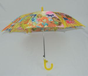 China 19 inch customized sublimation full printing kids girls carton rain umbrella for sale on sale