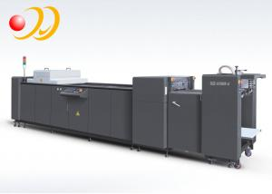 China 12 Inche Fully Automatic UV Coating Machine PLC Control System on sale
