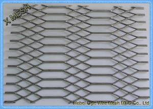 China 4 X 8 Hot Dipped Galvanized Expanded Metal Sheet Gothic Mesh 3.0 Mm Thickness on sale