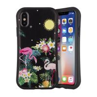 Colored Drawing Smartphone Protective Case / Iphone 8 X Max Mobile Phone Cover