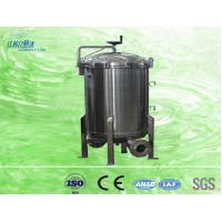 4 Inch Stainless Steel Housing Bag Filter For Drinking Water Treatment Plant