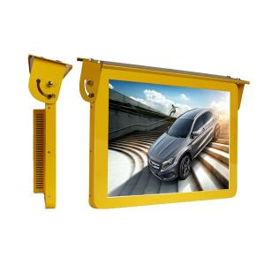 China Wall Mounted Bus Digital Signage Lcd Car Taxi Hanging Advertising Display on sale