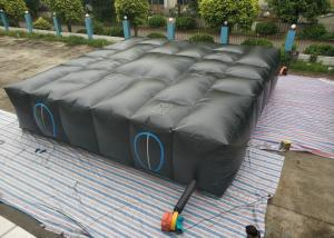 China Blue Large Inflatable Sport Games Maze / Inflatable Laser Tag Arena on sale