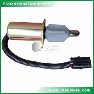 China 6CT Diesel Engine Sensors / Diesel Engine Stop Solenoid Valve 3918343 3921978 on sale
